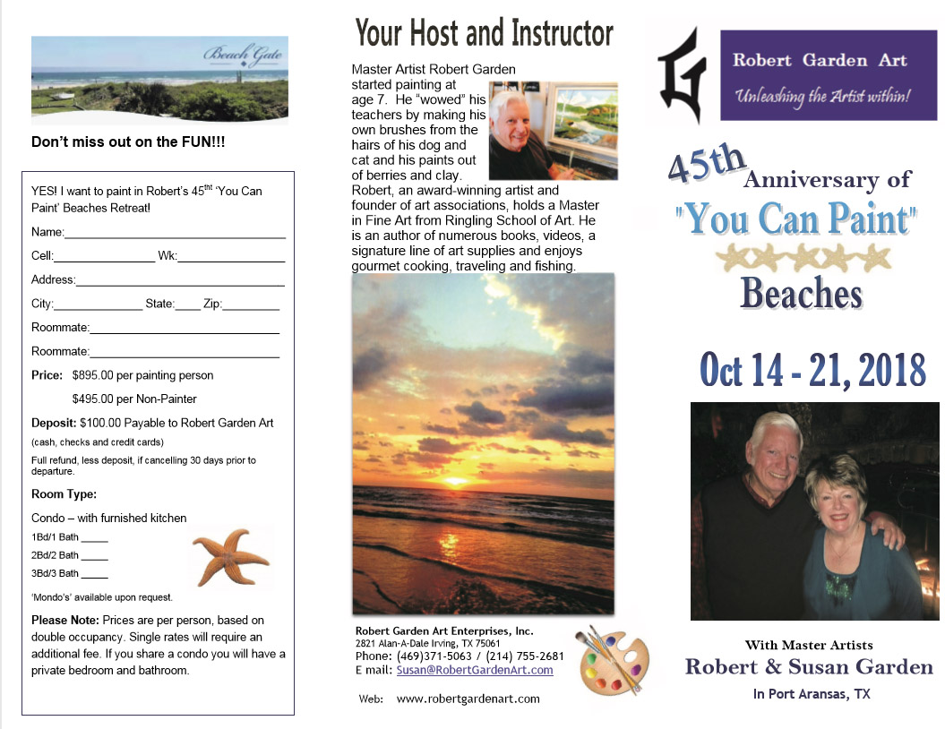 Click for the 2018 Port Aransas Brochure